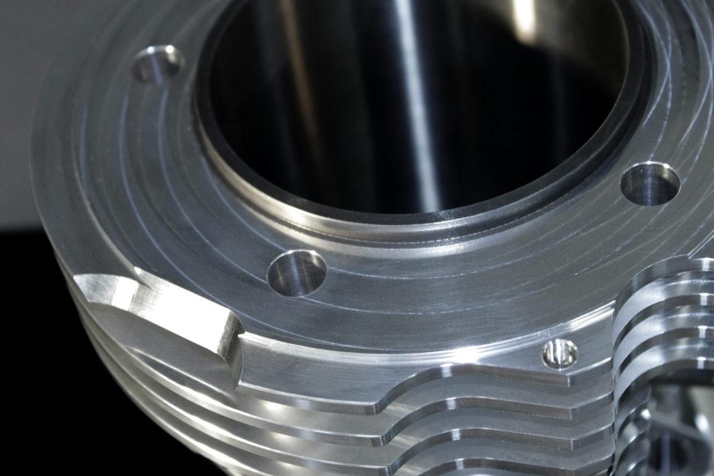 Shovelhead Billet Aluminum cylinders