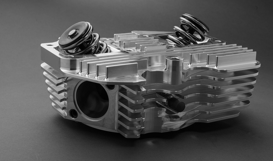 OEM Bore Headset (Shovelhead) with Dual Independent Intake system