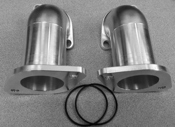Shovelhead Billet Aluminum dual intake