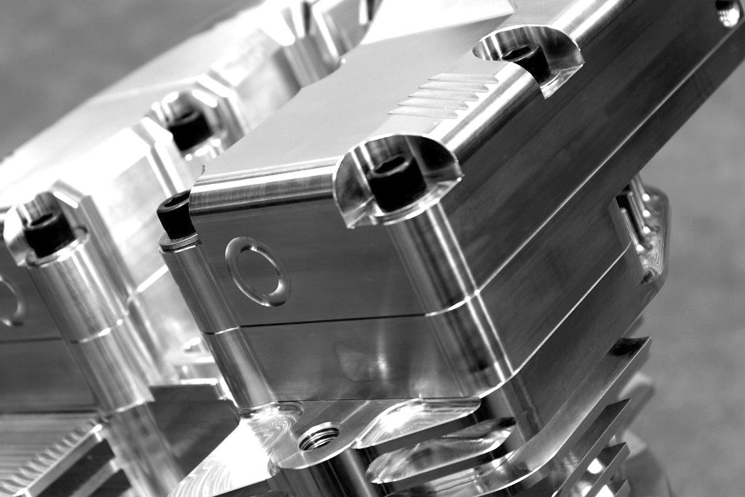 Billet Aluminum Rocker Box Shovelhead