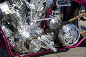 Kens Factory Shovelhead with Speed and Science top end