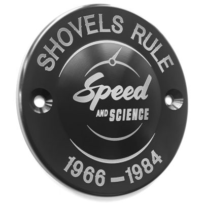 Shovelhead Billet Aluminum Timing Cover 02