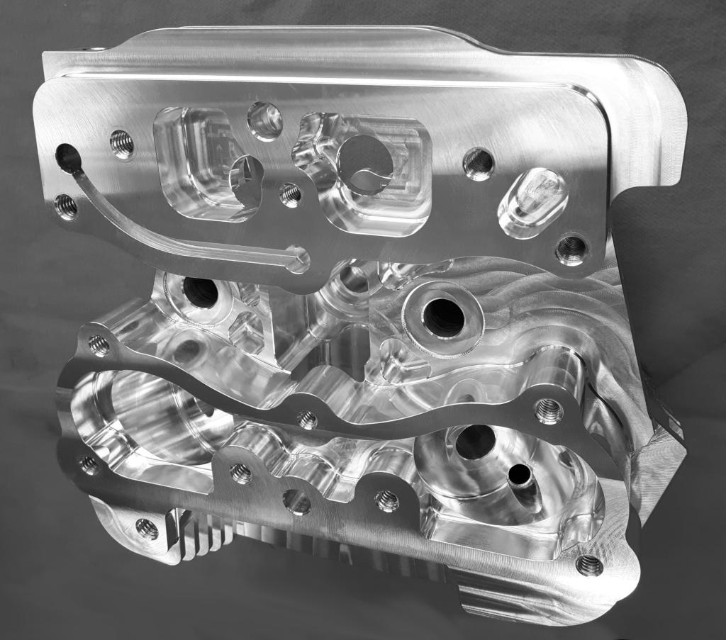 Harley Twin Cam 103 Billet Performance Headset