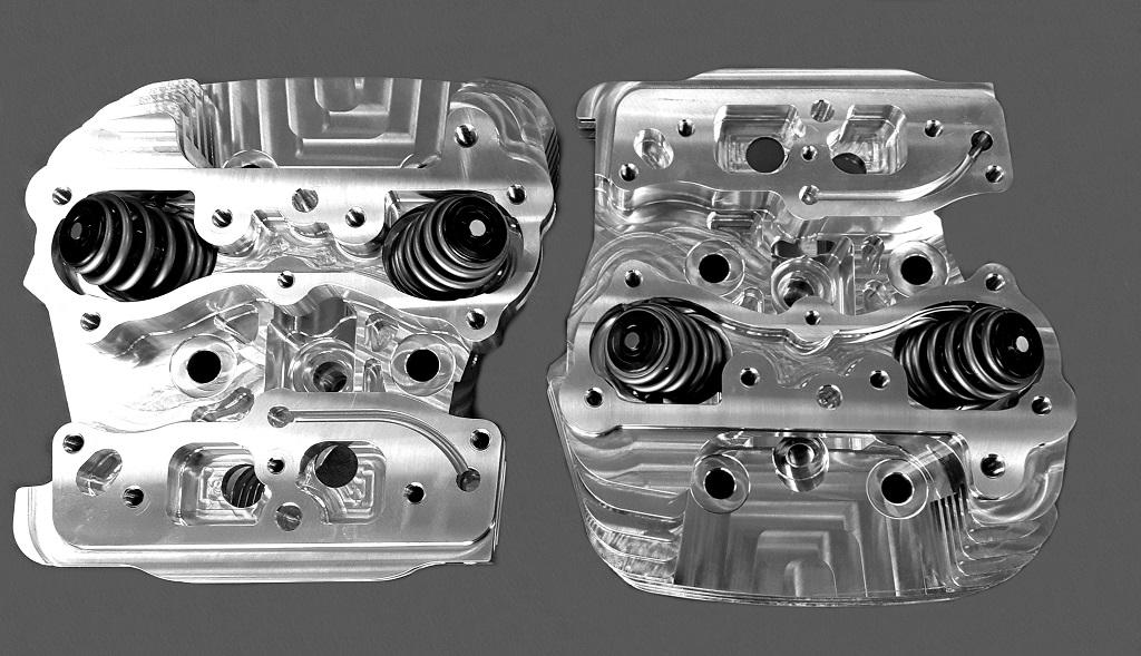Harley-Davidson TwinCam FEROCITY Billet Heads