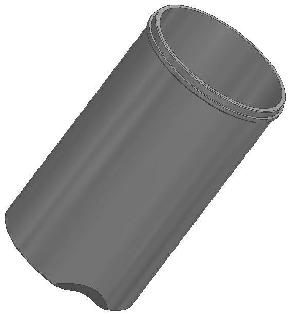 "Shovelhead Cylinder Sleeve 3-1/2"""
