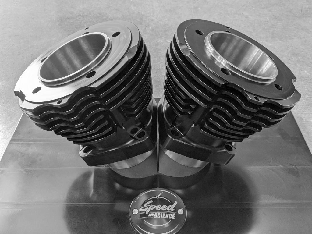Shovelhead Cylinders Black